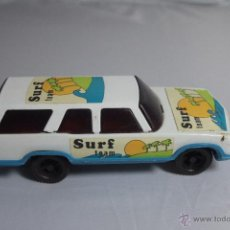 Juguetes antiguos: ANTIGUO COCHE JUGUETE A FRICCIÓN - PAYVA - SURF TEAM -REF3500-. Lote 48894658
