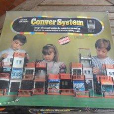 Juguetes antiguos - JUEGO DE CONSTRUCCION KIT Nº 3 CONVER SYSTEM FABRICADO POR JOSMAL - 49081163