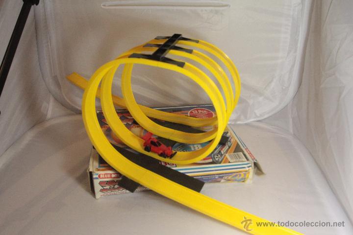 Juguetes antiguos: Speed burners - Circuito de 13 piezas - bernabeu gisbert - completo y con caja -ref1000- A - Foto 2 - 49083517