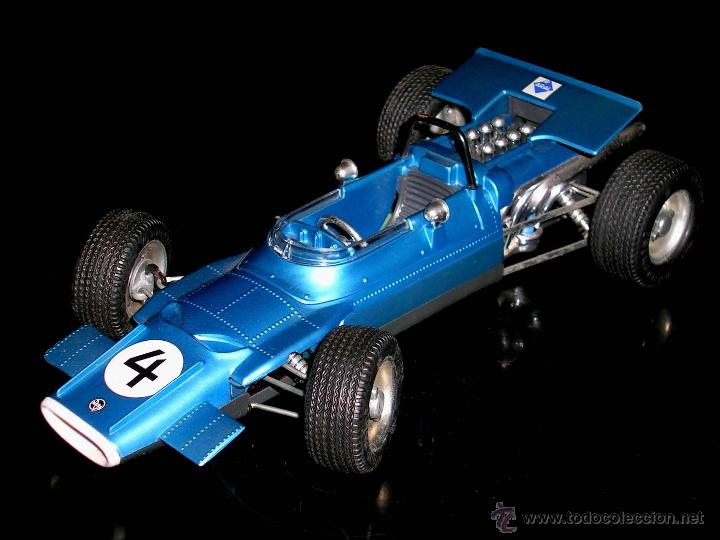 Juguetes antiguos: Matra Ford F-1 Formula 1 ref. 1074, 24 cms, esc 1/16, mecanismo a cuerda, Schuco, Germany. Con caja. - Foto 4 - 49299074