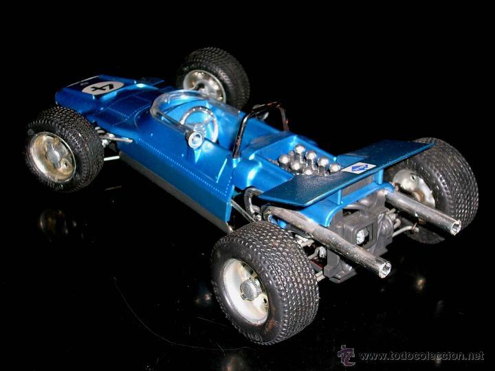 Juguetes antiguos: Matra Ford F-1 Formula 1 ref. 1074, 24 cms, esc 1/16, mecanismo a cuerda, Schuco, Germany. Con caja. - Foto 5 - 49299074
