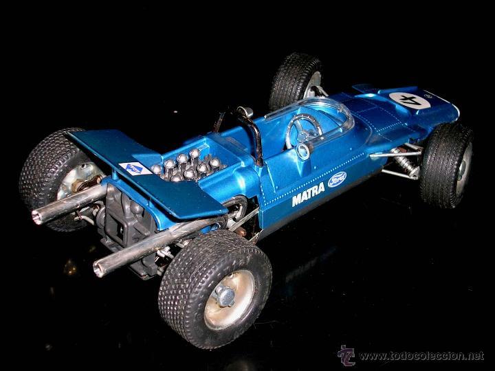 Juguetes antiguos: Matra Ford F-1 Formula 1 ref. 1074, 24 cms, esc 1/16, mecanismo a cuerda, Schuco, Germany. Con caja. - Foto 6 - 49299074