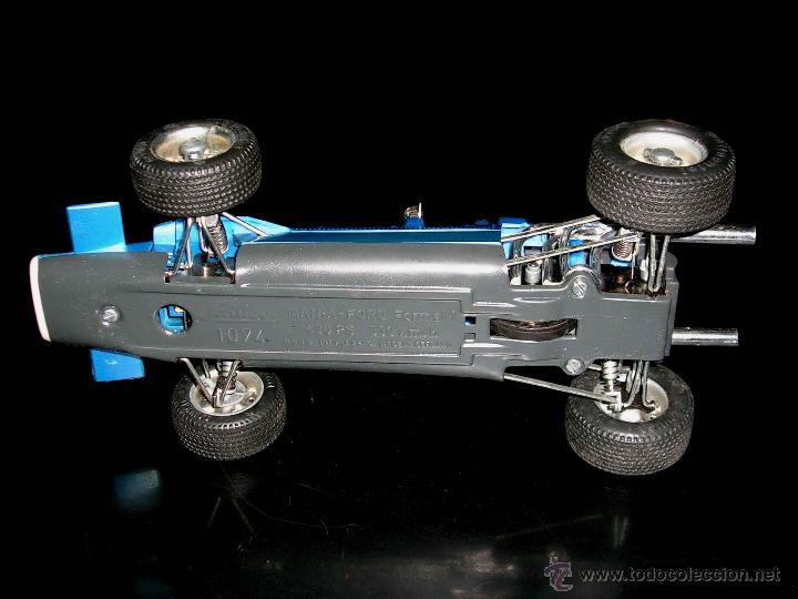 Juguetes antiguos: Matra Ford F-1 Formula 1 ref. 1074, 24 cms, esc 1/16, mecanismo a cuerda, Schuco, Germany. Con caja. - Foto 7 - 49299074