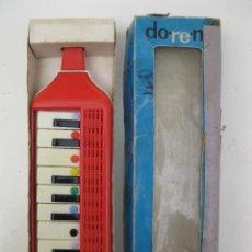 Juguetes antiguos: FLAUTA-PIANO - INSTRUMENTO MUSICAL DE VIENTO - DO-RE-MI - GUERRINI - EN SU CAJA ORIGINAL - AÑOS 70.. Lote 49323502