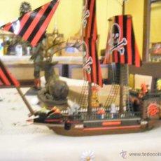 Juguetes antiguos: JUEGO CONSTRUCCIÓN COMPATIBLE LEGO BARCO PIRATA. Lote 49449327