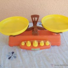 Juguetes antiguos: BALANZA MERCA DE RIMPOR .NUEVA SIN JUGAR.NO TIENE CAJA. Lote 69821635