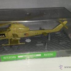 Juguetes antiguos: NACORAL HELICOPTEROS REF 504 EN METAL A ESTRENAR (Nº1). Lote 49734328