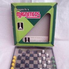 Juguetes antiguos: JUGUETES MAGNÉTICOS RIMA. DAMAS.. Lote 50034072