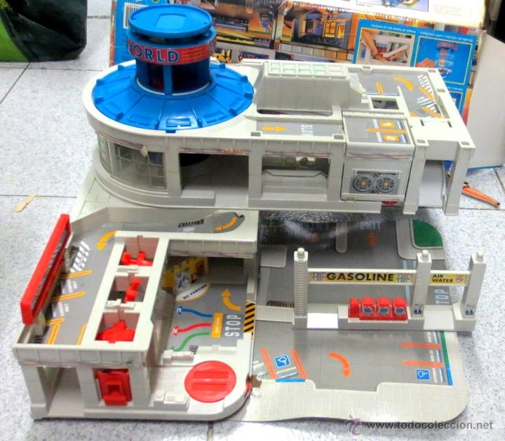 Super garaje micro machines con caja sin coches comprar - Garaje de coches ...