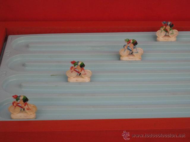 Juguetes antiguos: PISTA DE CARRERAS SELMAC, COMPLETA Y FUNCIONANDO. AÑOS 50 - Foto 4 - 50315754