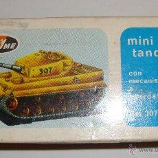 Juguetes antiguos: DIFICIL CAJA VACIA DE PLAYME MINI TANQUE REF 307. Lote 50615003
