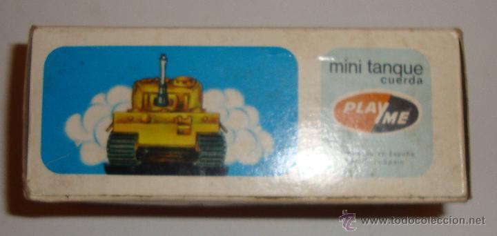 Juguetes antiguos: DIFICIL CAJA VACIA DE PLAYME MINI TANQUE REF 307 - Foto 2 - 50615003