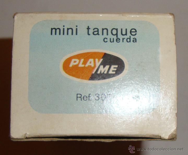 Juguetes antiguos: DIFICIL CAJA VACIA DE PLAYME MINI TANQUE REF 307 - Foto 5 - 50615003