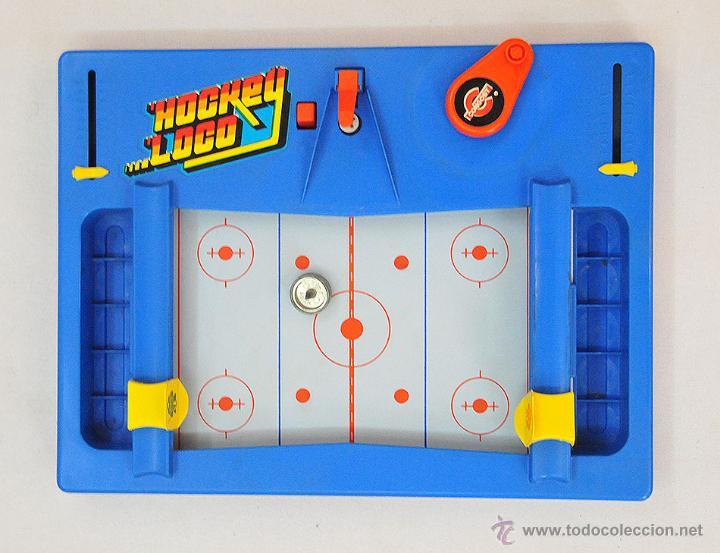 Juguetes antiguos: hockey loco divertido juego de congost mattel año 1979 completo - Foto 2 - 50739003