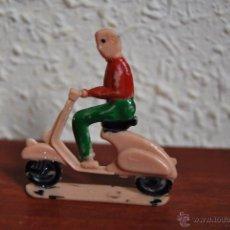 Juguetes antiguos: MOTORISTA SOTORRES - MOTO - VESPA - LAMBRETTA - AÑOS 50-60. Lote 50777757
