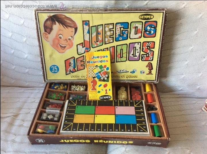 Juegos Reunidos Geyper 35 Comprar Juguetes Antiguos De Otras