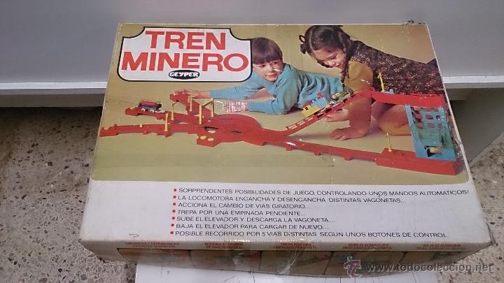 TREN MINERO DE GEYPER (Juguetes - Marcas Clasicas - Otras Marcas)