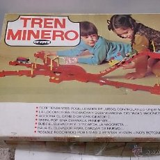 Juguetes antiguos: TREN MINERO DE GEYPER. Lote 51220252