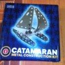 Juguetes antiguos: CATAMARAN METAL CONSTRUCTION KIT.MECCANO.. Lote 51235410