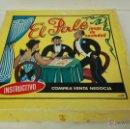 Juguetes antiguos: JUEGO DEL PALE DE LOS AÑOS 60. COMPLETO. Lote 51316222