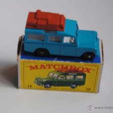 Juguetes antiguos: SAFARI LAND ROVER MATCHBOX SERIES BY LESNEY Nº 12 MADE IN ENGLAND. Lote 51504373