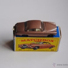Juguetes antiguos: JAGUAR MK10 MATCHBOX SERIES BY LESNEY Nº 28 MADE IN ENGLAND. Lote 51504489