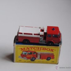 Juguetes antiguos: FIRE PUMPER TRUCK MATCHBOX SERIES BY LESNEY Nº 29 MADE IN ENGLAND. Lote 51504535