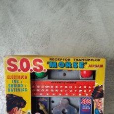 Juguetes antiguos: SOS MORSE AIRGAM. Lote 51567774