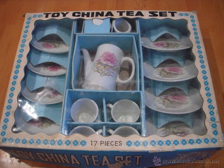 Antiguo Juego De Te De Ceramica Toy China Tea Comprar Juguetes
