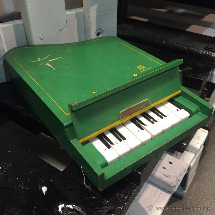 733 1950 De juguete Numero Piano Madera Cola ReigEn 6Yb7vgyf