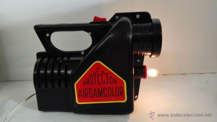 Juguetes antiguos: Proyector Airgamcolor. Años 60 - Foto 7 - 53522835