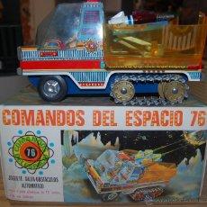 Juguetes antiguos: PRECIOSO JUGUETE COMANDOS DEL ESPACIO DE EGE. NUMERO 76. EN CAJA ORIGINAL.. Lote 52346610