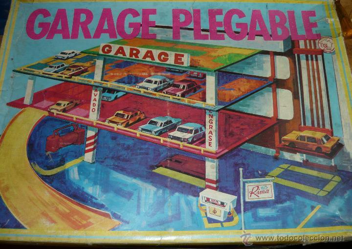 GARAGE PLEGABLE RIMA (Juguetes - Marcas Clasicas - Otras Marcas)