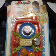 Juguetes antiguos: COMIDITAS DE HOGARÍN. Lote 74868010