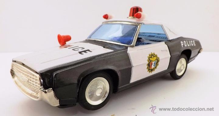 Juguetes antiguos: Ichiko.Thunderbird Policía. - Foto 2 - 52726117