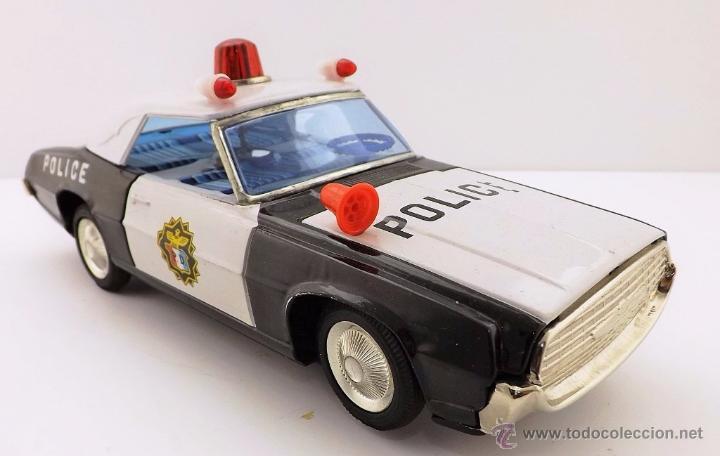 Juguetes antiguos: Ichiko.Thunderbird Policía. - Foto 3 - 52726117