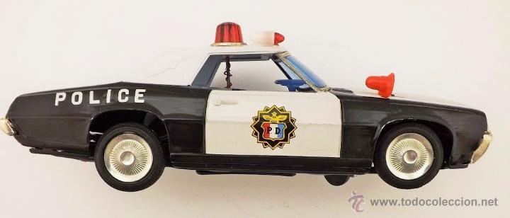 Juguetes antiguos: Ichiko.Thunderbird Policía. - Foto 4 - 52726117