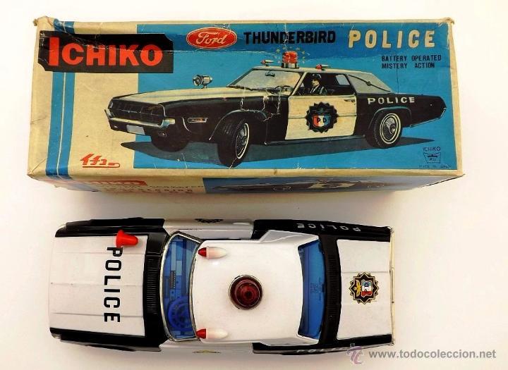 Juguetes antiguos: Ichiko.Thunderbird Policía. - Foto 8 - 52726117