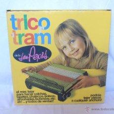 Juguetes antiguos: TELAR TRICO TRAM SEÑORITA PEPIS CASI NUEVO GRAINES BARCELONA MADE IN SPAIN. Lote 52728405