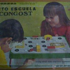 Juguetes antiguos: AUTO ESCUELA CONGOST. AÑO 1970. COMPLETO. Lote 52913618