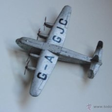 Juguetes antiguos: AVION AVRO YORK AIR LINE DINKY TOYS MADE IN ENGLAND BY MECCANO LTD. Lote 53044941