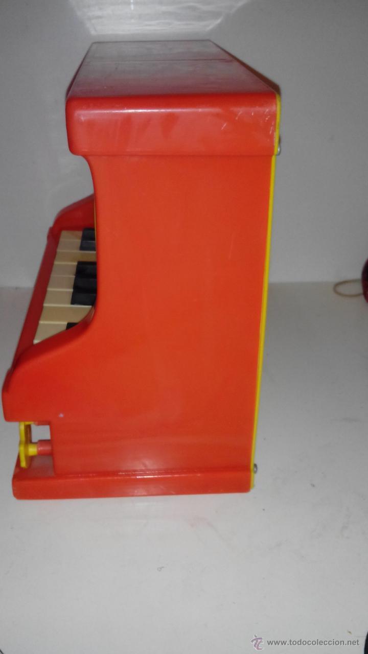 Juguetes antiguos: PIANO GARDEN - REIG - AÑOS 70 - Foto 2 - 53500384
