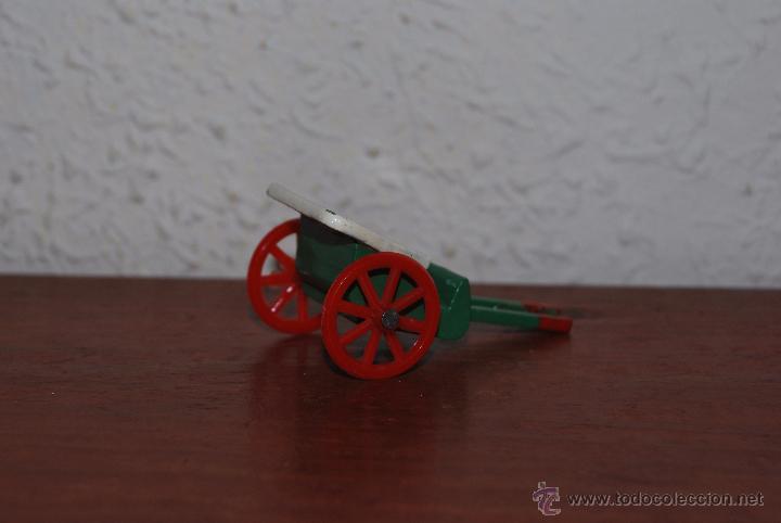 Juguetes antiguos: CARRO DE MADERA DE JUGUETE - GOULA - AÑOS 60 - Foto 2 - 53648758