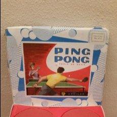 Juguetes antiguos: ANTIGUA CAJA JUEGO PING PONG TENIS DE MESA AÑOS 60 AGUILAR ANTIGUO JUGUETE. Lote 53649932