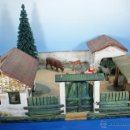 Juguetes antiguos: GRANJA PFEIFFER DE 1914 (ELASTOLIN) , PECH, LAFREDO. Lote 54044984