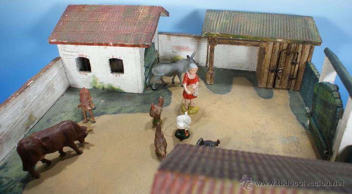 Juguetes antiguos: GRANJA PFEIFFER DE 1914 (ELASTOLIN) , PECH, LAFREDO - Foto 2 - 54044984