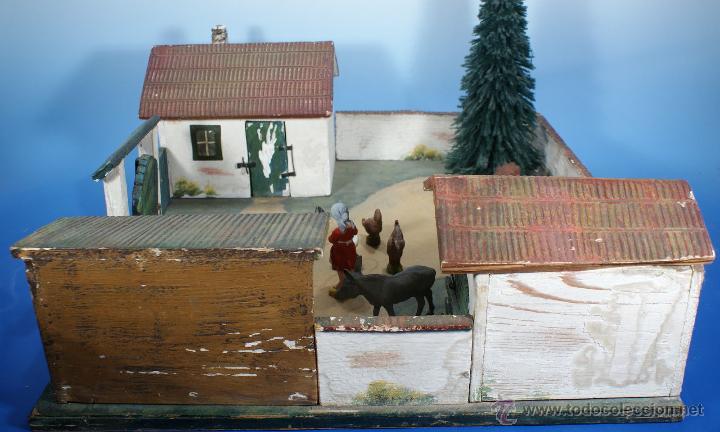 Juguetes antiguos: GRANJA PFEIFFER DE 1914 (ELASTOLIN) , PECH, LAFREDO - Foto 3 - 54044984