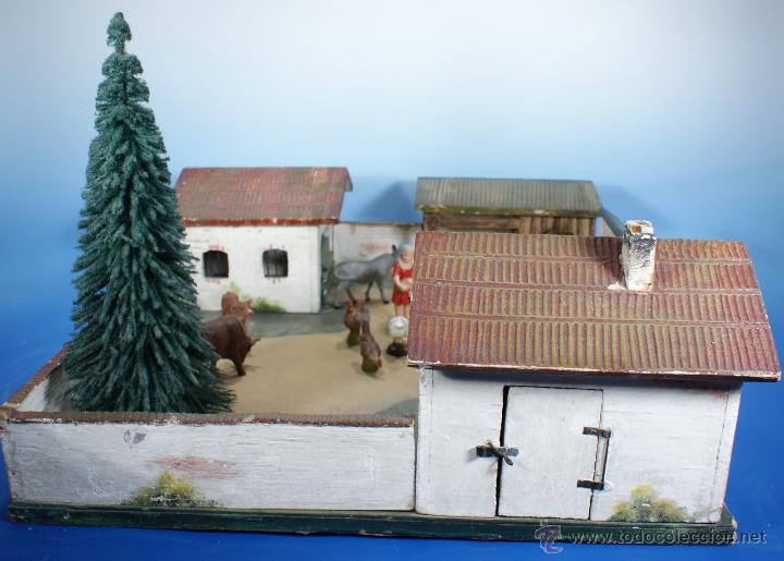 Juguetes antiguos: GRANJA PFEIFFER DE 1914 (ELASTOLIN) , PECH, LAFREDO - Foto 4 - 54044984