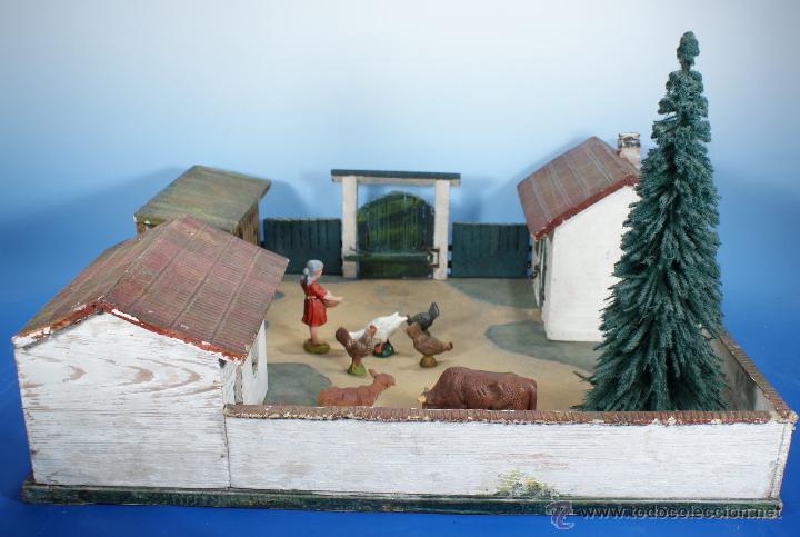 Juguetes antiguos: GRANJA PFEIFFER DE 1914 (ELASTOLIN) , PECH, LAFREDO - Foto 5 - 54044984
