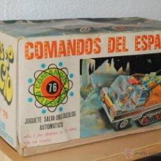 Juguetes antiguos: VEHICULO ESPACIAL COMANDOS DEL ESPACIO Nº 76 EN CAJA - EGE .AÑOS 70. Lote 54176450
